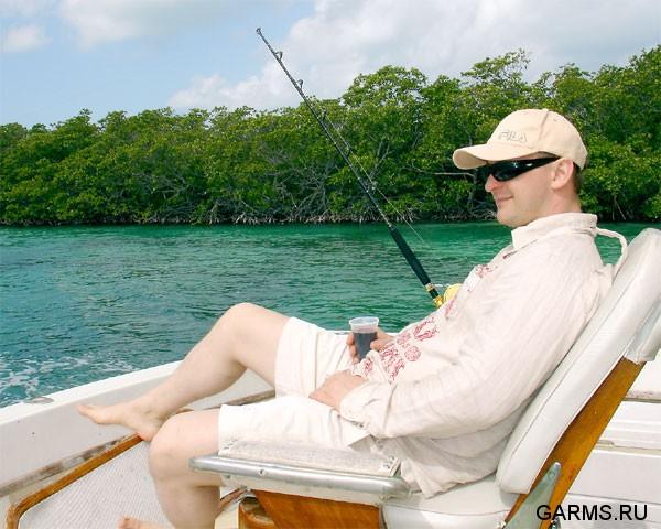 рыбалка на кубе парусник