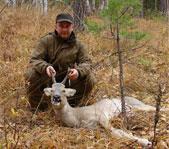 Осенняя охота на козла на реву октябрь