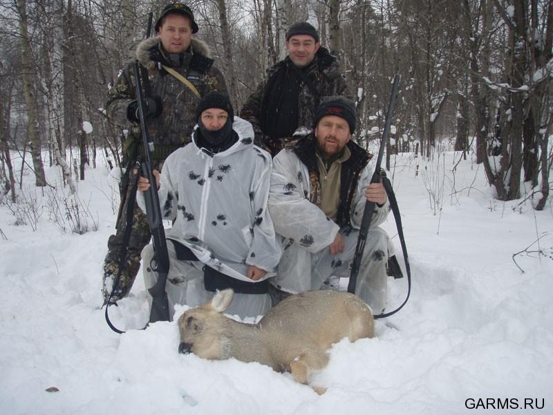 Охота на косулю видео