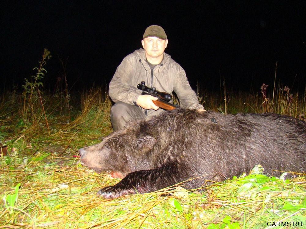 Охота на медведя видео